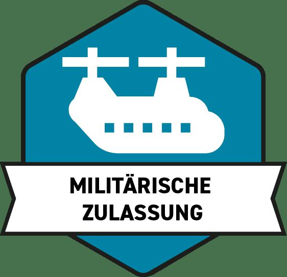 Rhopoint Militärische Zulassung Logo